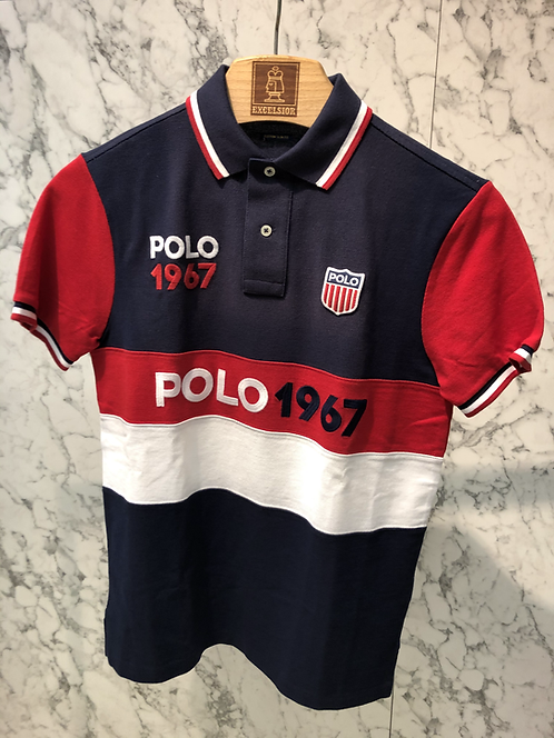 POLO RALPH LAUREN: Polo mc, multi, 01129