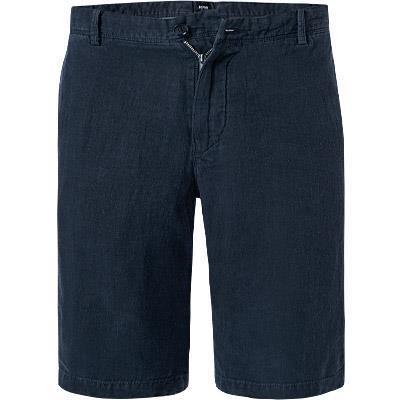 HUGO BOSS: Short, lin, bleu nuit 11117