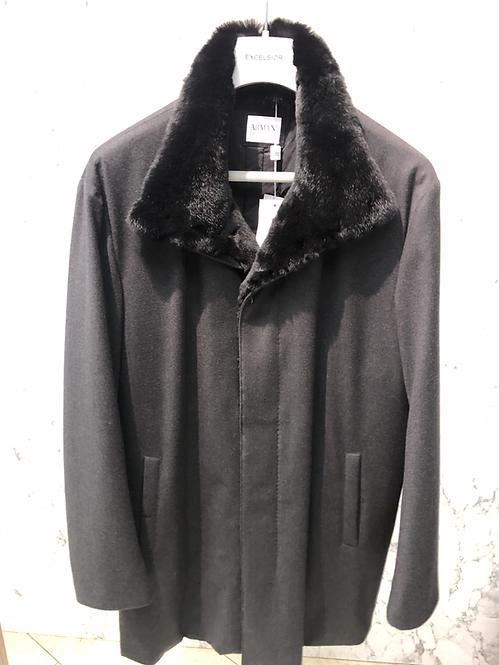 ARMANI: Manteau laine, ouatiné, water-resistent, gris, 52136