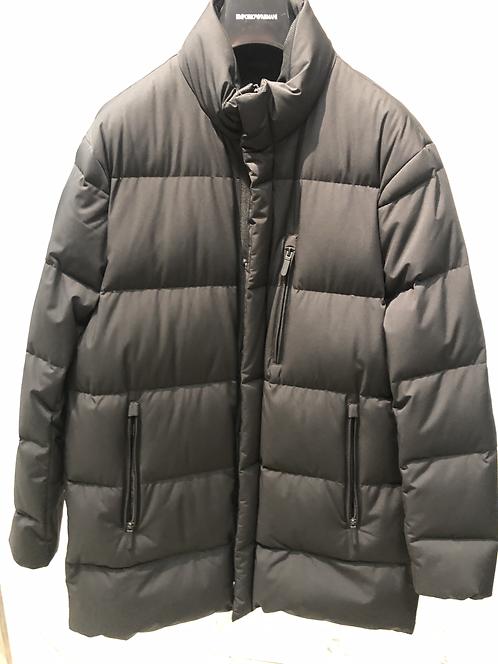 EMPORIO ARMANI: Manteau en plume, water-resistent, noir,92128