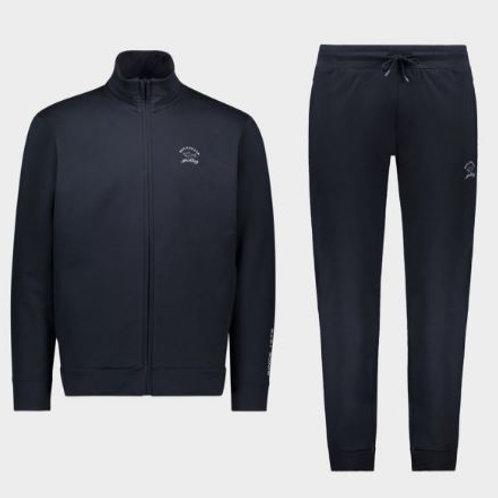 PAUL&SHARK Survêtement en coton avec logo ton sur ton 02271
