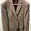 Thumbnail: HUGO BOSS: Veston, pure laine Gr.340, petit pied poule Brun 22608