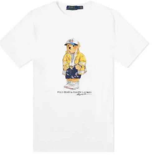 Polo Ralph Lauren BLANC  T-shirt