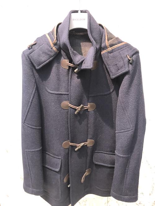 EXCELSIOR: Duffle Coat, NAVY, capuche amovible 72209
