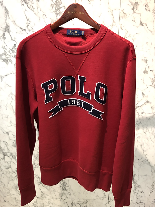POLO RALPH LAUREN: Sweat, red, 82261c