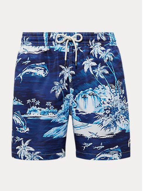POLO RALPH LAUREN Short de bain Traveler tropical FLYING FISH