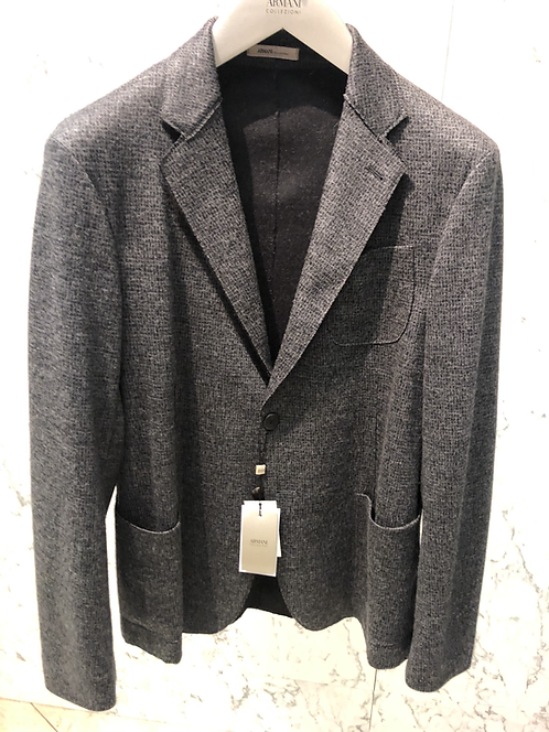 ARMANI: Veston construction soft, structuré et non doublé, gris 72131