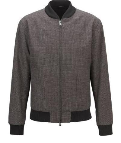 HUGO BOSS: Ensemble Veste/blouson et pantalon, gris 11101