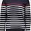 Thumbnail: PAUL&SHARK: Pull à col rond à rayures en laine Mérinos C0P1046-300