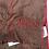 Thumbnail: ARMANI: Echarpe en laine, rouge&taupe 52323b
