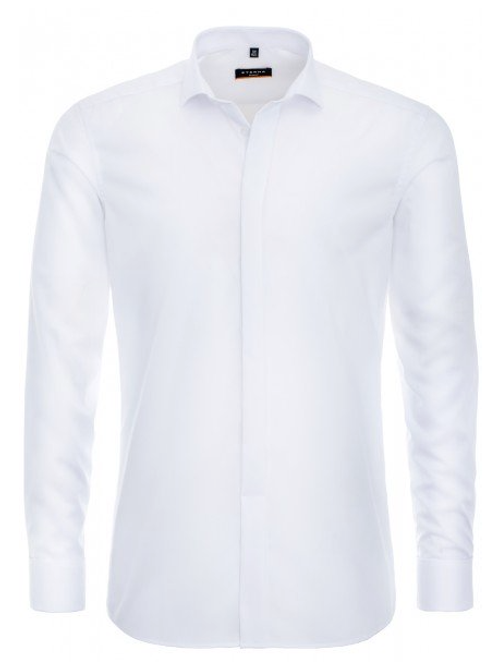 Eterna Chemise GALA Blanche SLIM FIT 100 co