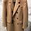 Thumbnail: HUGO BOSS: Manteau croisé CAMEL, structure blouclée, laine et alpaca 82293