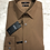 Thumbnail: HUGO BOSS: chemise cotton, slim fit, travel, camel, 02220