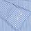 Thumbnail: PAUL&SHARK: Chemise en coton à rayures LIGHT BLUE 92R400B