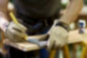 Carpenter Madeira de medição