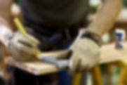 Плотник измерения древесины
