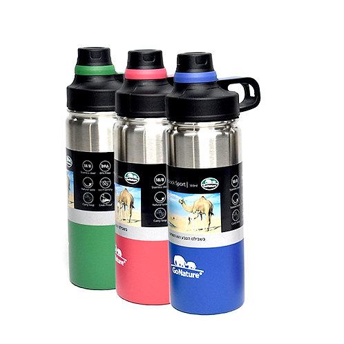 תרמוס - בקבוק אקולוגי מבודד שומר חום קור 500 מיל