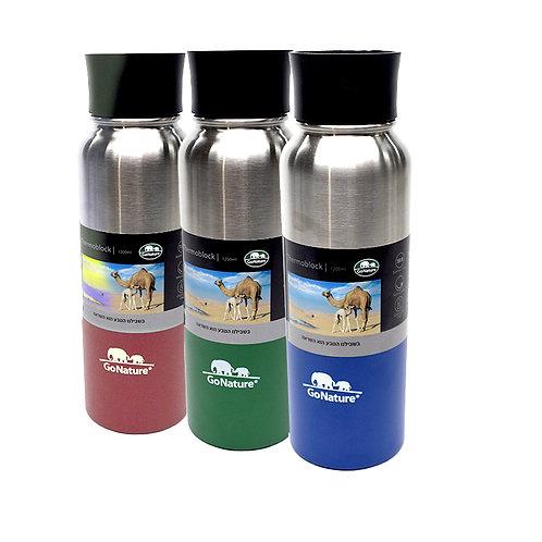 תרמוס - בקבוק אקולוגי מבודד שומר חום קור 1200 מיל