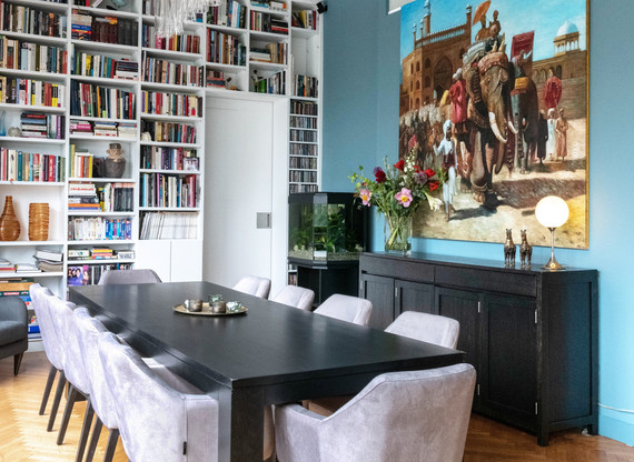 Dansaert loft dining room