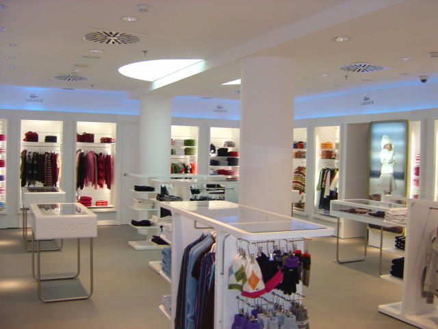 Lacoste Stores - Spain