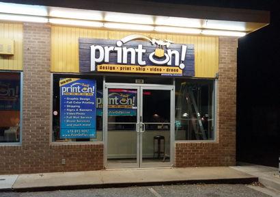 Print On Plus Storefront