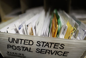 Documents being mailed out