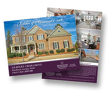 Example of brochures made for Premier Properties