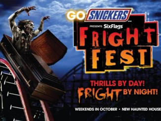 Music for Fright Fest at Six Flags