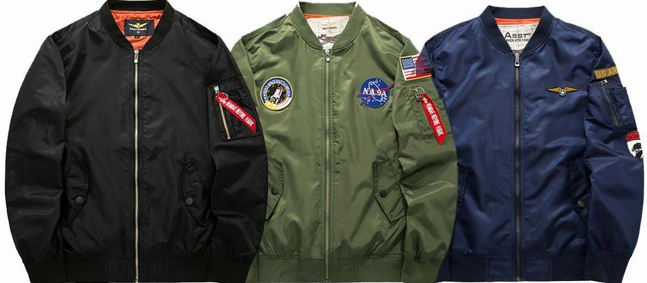 История бомбера или лётная куртка МА-1