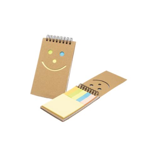 Sticky Notes Spiral Notepads