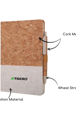 Recycled Cork Notebooks