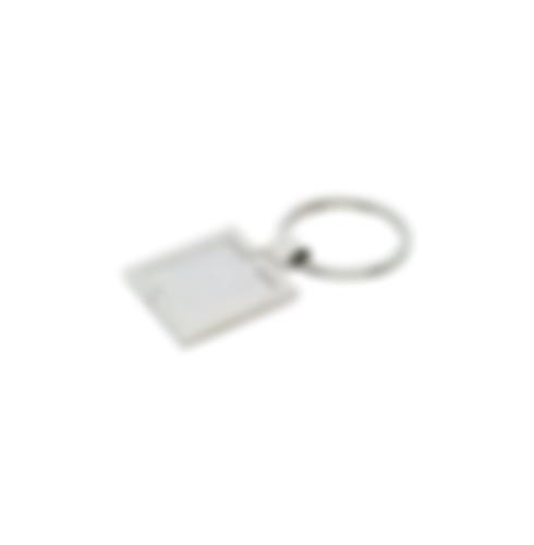 Square Metal Keychains