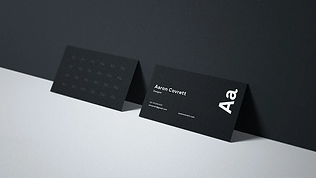 White Ink Business Cards.webp