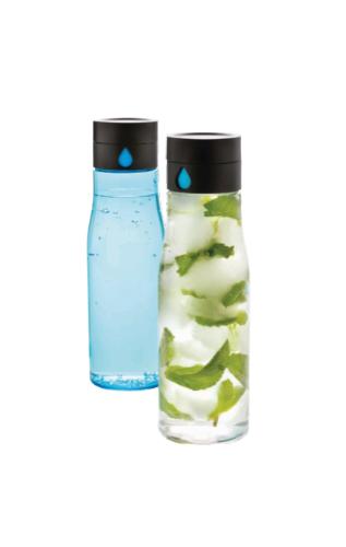 Aqua Tritan Glass Bottles