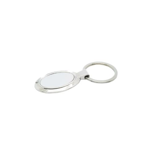 Oval Metal Keychains