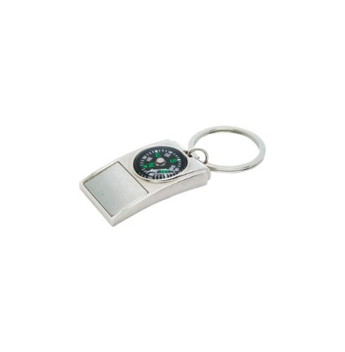 Compass Metal Keychains