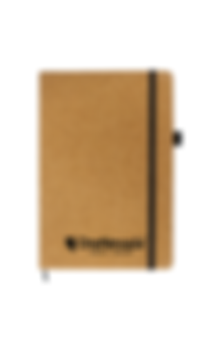 Cork Elastic Notebooks