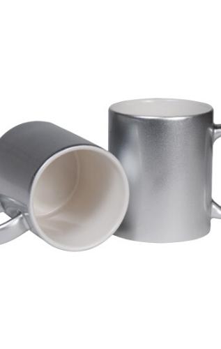 SilverCeramic Mugs