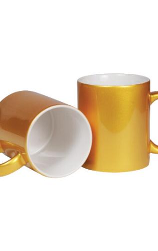 GoldCeramic Mugs