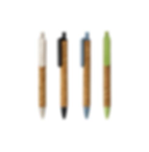 Customized Wheat Straw Cork Pens