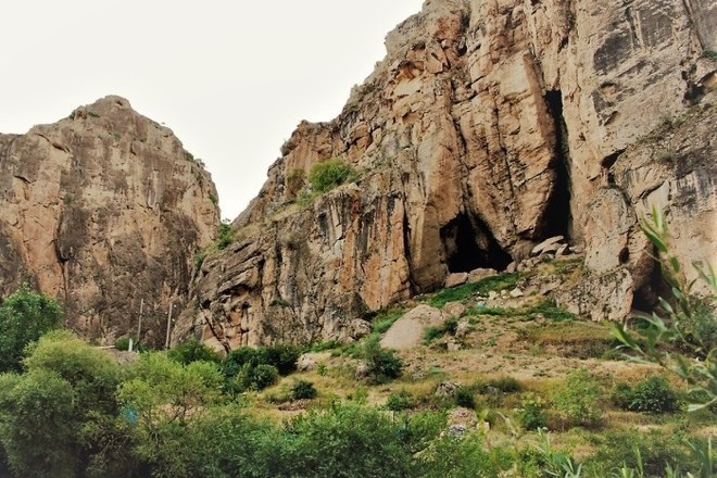 This image shows Areni- 1 Cave in Armenia
