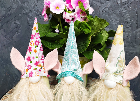 limited edition textile hand made Gnomes