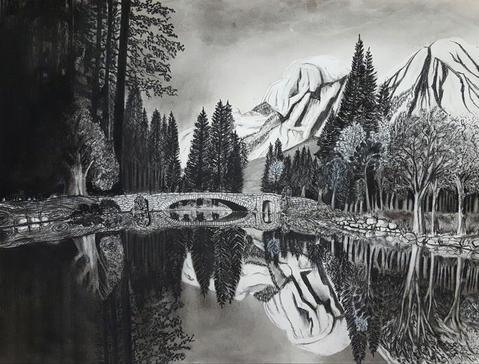 Reflections on a lake - Original.jpg