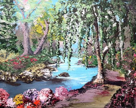 Willow Zen Garden