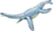 Graphic illustration of Plesiosaur