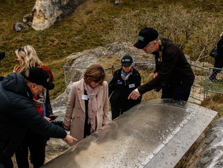 UNESCO NZ comes for a visit