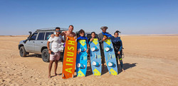 Kitesurf with family at Dakhla