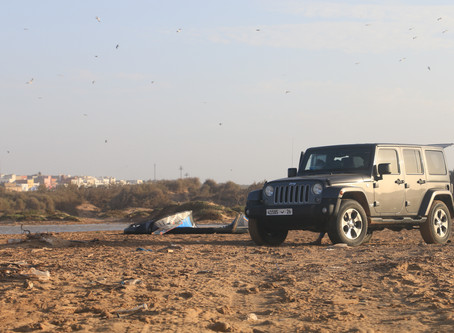 Rent a 4x4 at Dakhla Morocco