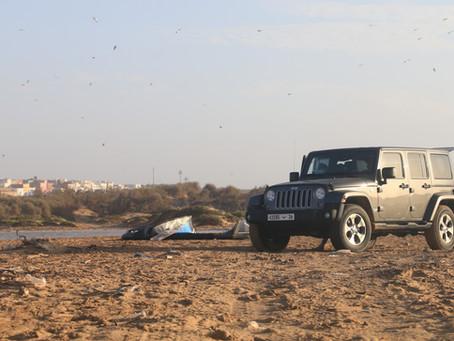 Rent a 4x4 at Dakhla Morocco