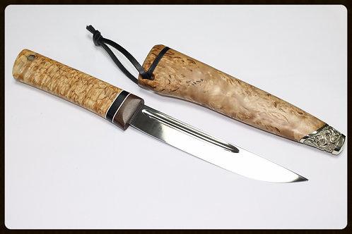 "Нож ""Якут средний""с деревянными ножнами"